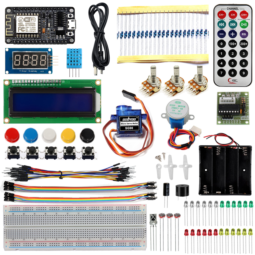 NodeMCU IOT programming learning starter kit